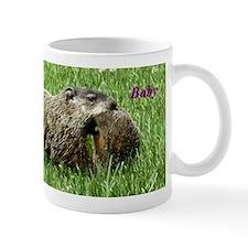 Groundhog and Baby Mugs