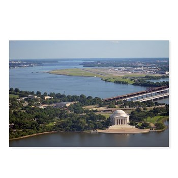Jefferson Memorial from Washington Monument observation deck. Washington DC ©Amy Marie 2014