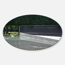 Freedom is not Free - Korean War Memorial Decal
