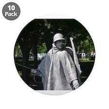 "Radio Man - Korean War Memorial 3.5"" Button (10 pa"