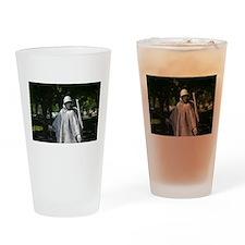 Radio Man - Korean War Memorial Drinking Glass