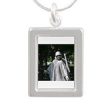 Radio Man - Korean War Memorial Necklaces