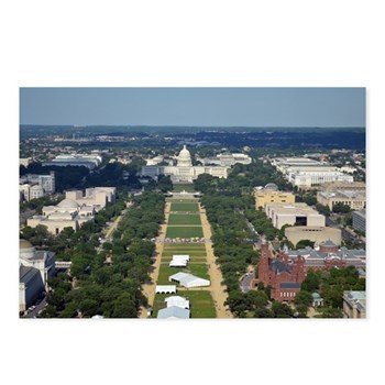 US Capitol building & National Mall from the observation deck of the Washington Monument - Washington DC ©Amy Marie 2014