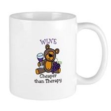 Cheaper Than Therapy Mugs