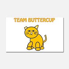 Team Buttercup Car Magnet 20 x 12
