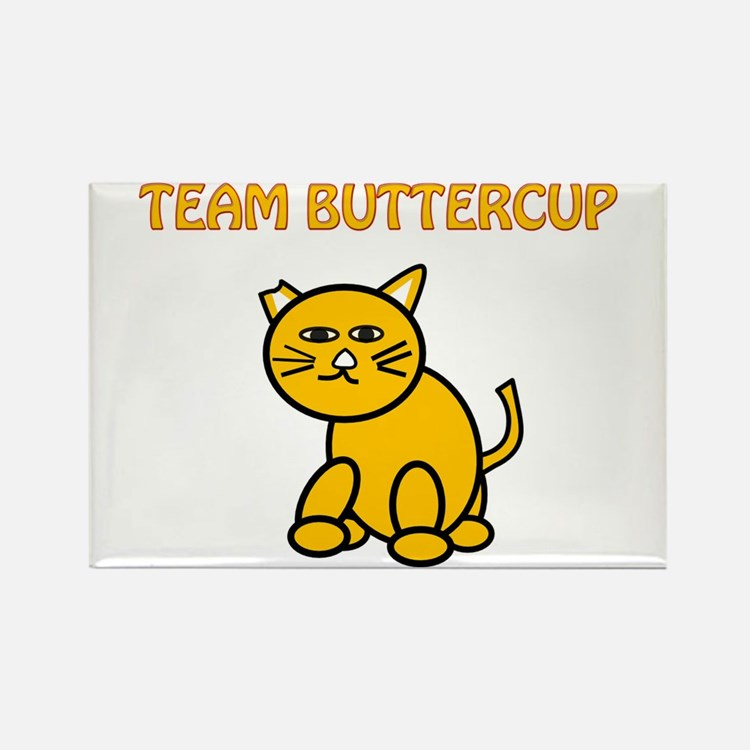 Team Buttercup Rectangle Magnet