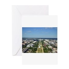 Capitol from top of Washington Monument Greeting C