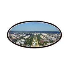 Capitol from top of Washington Monument Patches