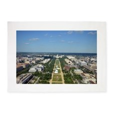 Capitol from top of Washington Monument 5'x7'Area