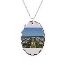Capitol from top of Washington Monument Necklace