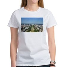 Capitol from top of Washington Monument T-Shirt