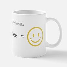 Python and coffee equals happy coding :) Mugs