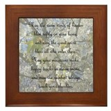 Native american quote framed tiles Framed Tiles