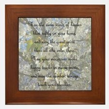 Cherokee Blessing Framed Tile