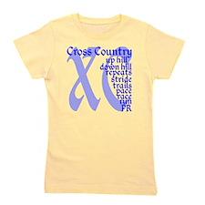 Cross Country XC blue Girl's Tee