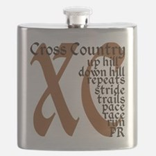 Cross Country XC brown Flask