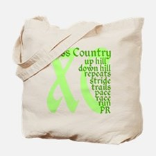 Cross Country XC green Tote Bag