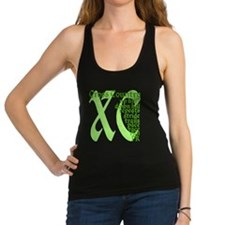 Cross Country XC green Racerback Tank Top
