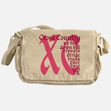 Cross Country XC pink Messenger Bag