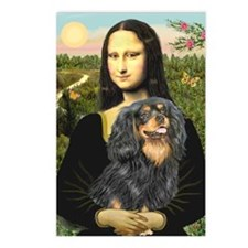 Mona & her Cavalier (BT) Postcards (Package of 8)