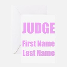 Judge Greeting Cards