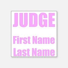 Judge Sticker