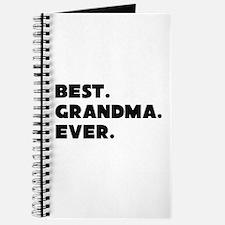 Best Grandma Ever Journal