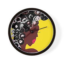 Curls Wall Clock