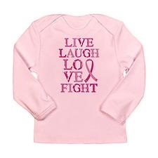 Live Love Fight Long Sleeve Infant T-Shirt