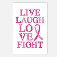 Live Love Fight Postcards (Package of 8)