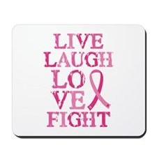 Live Love Fight Mousepad