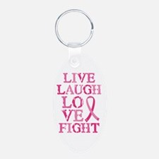 Live Love Fight Keychains