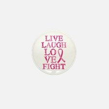 Live Love Fight Mini Button (10 pack)