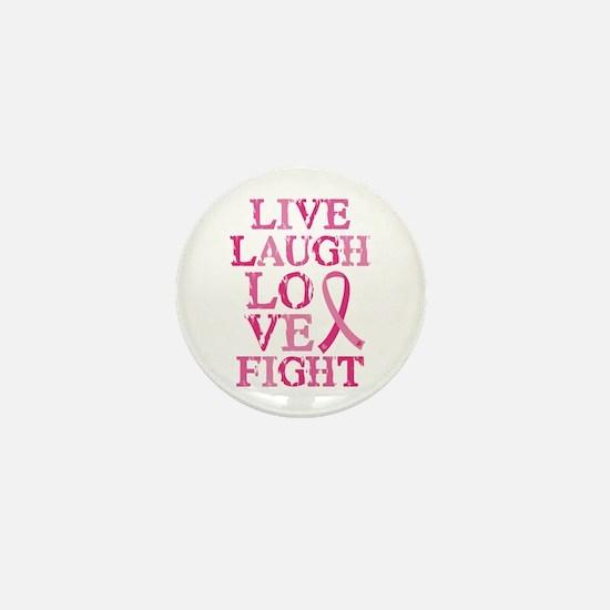 Live Love Fight Mini Button