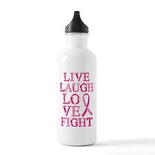 Live Love Fight Water Bottle