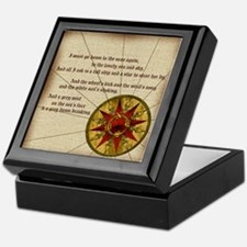 Harvest Moons Compass Rose Keepsake Box
