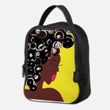 Curls Neoprene Lunch Bag
