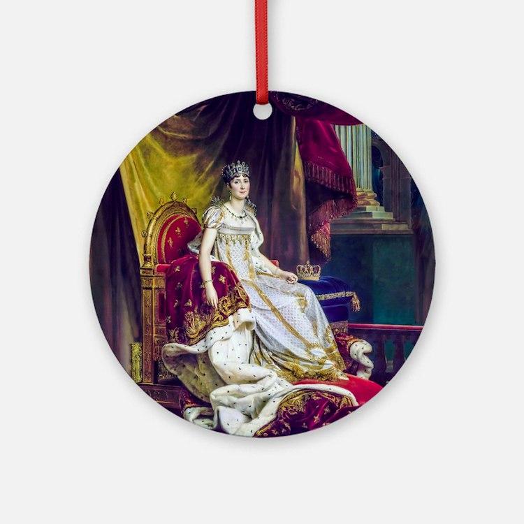 Gerard - Empress Josephine Ornament (Round)