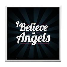 I Believe In Angels - Tile Coaster