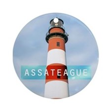 Assateague. Ornament (Round)