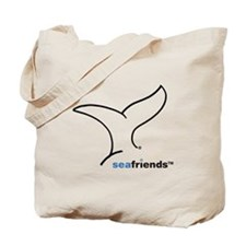 SeaFriends-Whale Tail Tote Bag