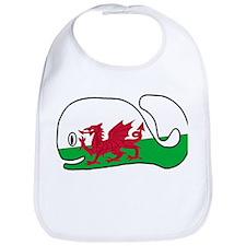 A Wales Whale's Whale Bib