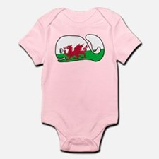 A Wales Whale's Whale Infant Bodysuit