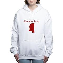 Mississippi Strong Women's Hooded Sweatshirt
