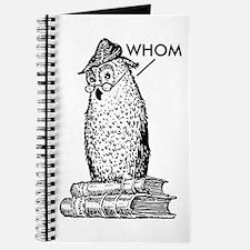 Grammar Owl Says Whom Journal