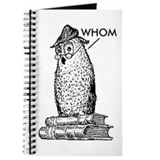 Grammar Owl Says Whom Journal