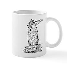 Grammar Owl Says Whom Mug