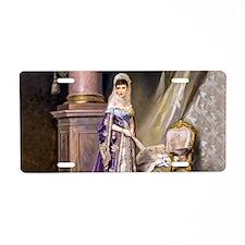 Makovsky: Empress Maria Fyo Aluminum License Plate