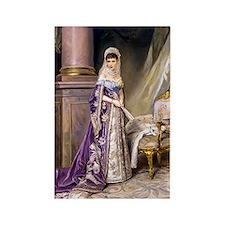 Makovsky: Empress Maria Fyodorovn Rectangle Magnet