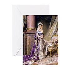 Makovsky: Empress Maria Greeting Cards (Pk of 20)